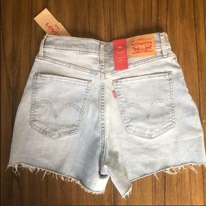Levi's Shorts - Levi's Mile High cutoff embroidered shorts